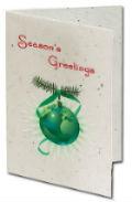 Custom Printed - Seeded Paper - Christmas Cards