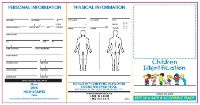 Custom Promotional Children ID kits