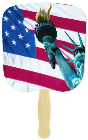 Liberty Patriotic Handheld Fan