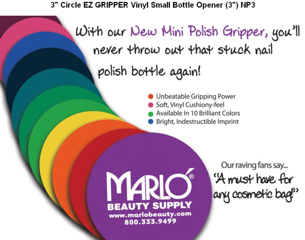 Nail Polish Vinyl Bottle Openers
