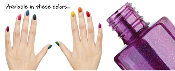 Some of Many Vinyl Colors for Nail Polish Bottle Openers