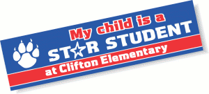 Elementary Bumper Stickers
