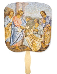Keys of the Kingdom Inspirational Hand Fan