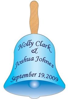 Wedding Bell Hand Fan
