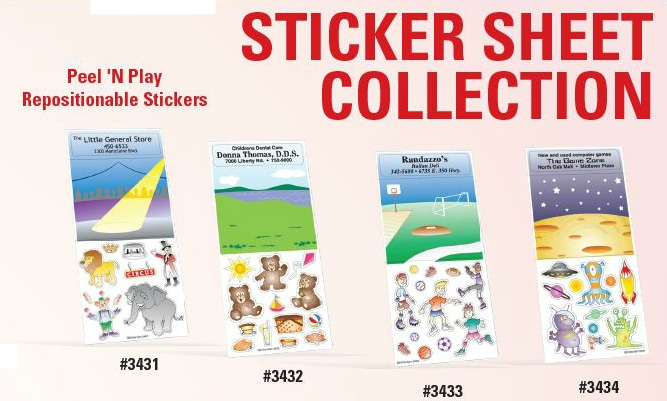 Peel n Play Sticker Sheets