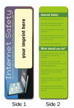 Personalized Internet Safety Bookmark