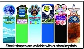 Custom Stock Shape Bookmarks