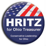 Round two color Custom Political Campaign Button - Wholesale prices