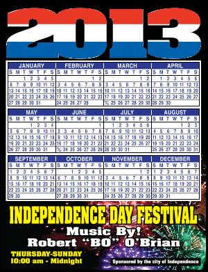 2016 Calendar Magnets