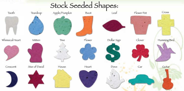 Stock Seeded Shapes