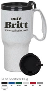 Promotional Auto Travel Mug