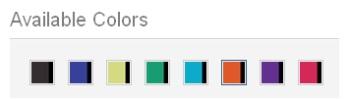 Colors Available for Premium Stylus Pen