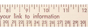 Custom Imprinted 12-inch Natural Finish Flat Wood Ruler