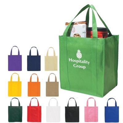 Custom Non-Woven Shopper Tote Bag