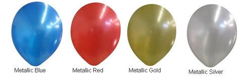 "11"" Metallic Balloon Colors"