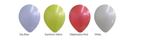 "14"" Decorator Balloon Colors"