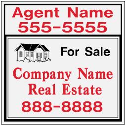 cheap Real Estate Yard Signs