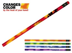 Custom Mood Pencils with Colored Erasers
