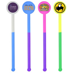 Mood Stirrer Sticks - Full Color Custom Imprint