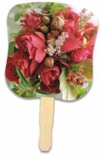 Flower Bouquet Hand Fan