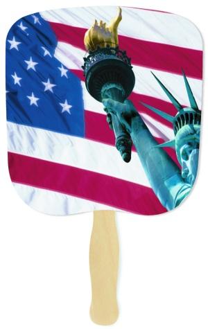 Liberty Patriotic Handheld Fan