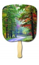 Scenic and Still Life Scenes on Hand Fans