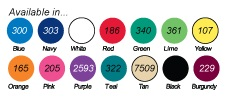 Wholesale Personalized Vinyl Jar Opener colors