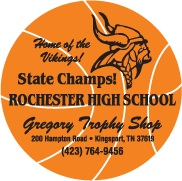Personalized Basketball Schedule Magnet
