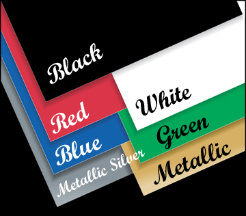 Decal Colors