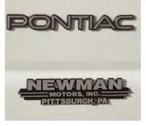Auto Nameplate
