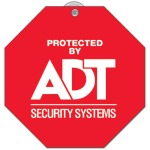 Stop Sign Window Signs with Personalized Imprint
