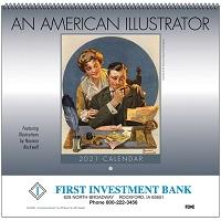 American Illustrator 2021 Calendar Cover