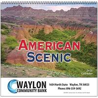 American Scenic 2021 Calendar Cover