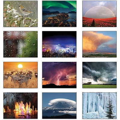 Old Farmers Almanac Weather 2021 Calendar Monthly Scenes