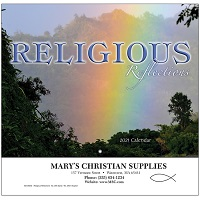 Religious Reflections 2021 Calendar Cover