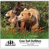 Wildlife 2021 Calendar Cover