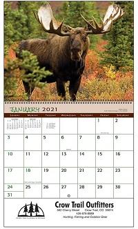 Wildlife 2021 Calendar