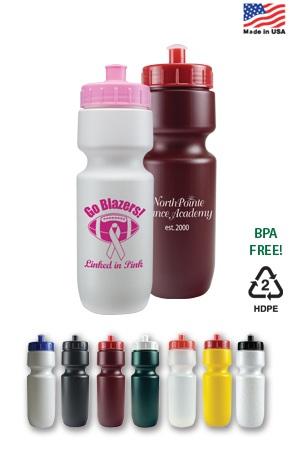 Custom Printed Sports Water Bottles