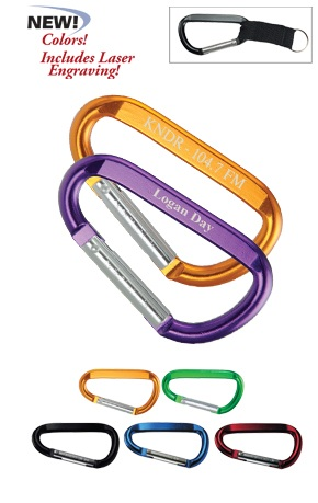 Promotional Large Carabiner Clip