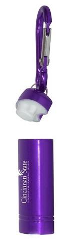 Open Carabiner Flashlight
