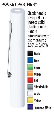 Pocket Screwdriver Handle Color Options