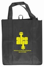 Black Grocery Tote Bag