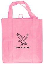 Pink Grocery Tote Bag
