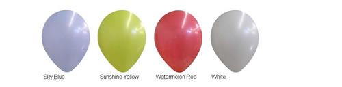 "14"" Decorator Balloon Colors"