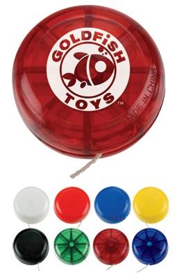 Sample Yo Yo with a customized Logo