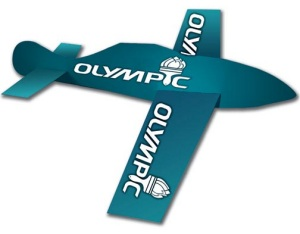 Glider - promotional paper airplane