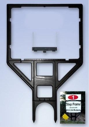 Real Estate Step Plastic Sign Frame